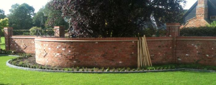 Brickwork banner